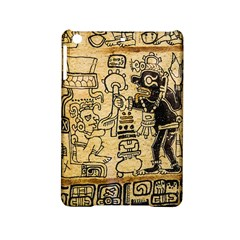 Mystery Pattern Pyramid Peru Aztec Font Art Drawing Illustration Design Text Mexico History Indian iPad Mini 2 Hardshell Cases
