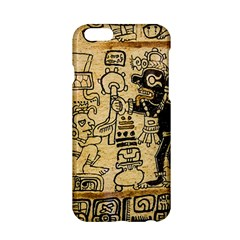 Mystery Pattern Pyramid Peru Aztec Font Art Drawing Illustration Design Text Mexico History Indian Apple iPhone 6/6S Hardshell Case