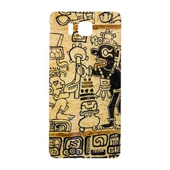 Mystery Pattern Pyramid Peru Aztec Font Art Drawing Illustration Design Text Mexico History Indian Samsung Galaxy Alpha Hardshell Back Case