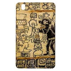 Mystery Pattern Pyramid Peru Aztec Font Art Drawing Illustration Design Text Mexico History Indian Samsung Galaxy Tab Pro 8 4 Hardshell Case
