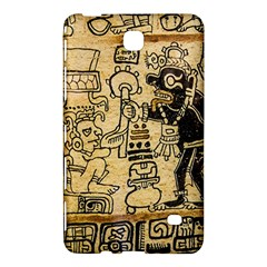Mystery Pattern Pyramid Peru Aztec Font Art Drawing Illustration Design Text Mexico History Indian Samsung Galaxy Tab 4 (8 ) Hardshell Case  by Celenk