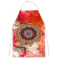 Mandala Art Design Pattern Ethnic Full Print Aprons by Celenk