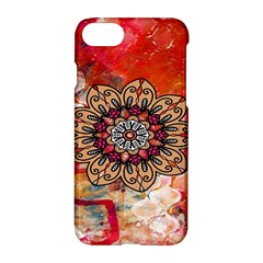 Mandala Art Design Pattern Ethnic Apple Iphone 7 Hardshell Case by Celenk