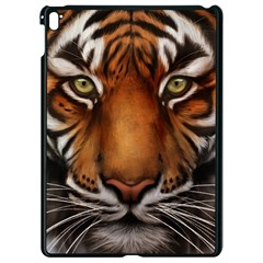 The Tiger Face Apple Ipad Pro 9 7   Black Seamless Case
