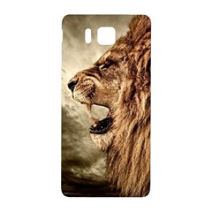 Roaring Lion Samsung Galaxy Alpha Hardshell Back Case by Celenk