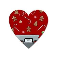 Hilarious Holidays  Heart Magnet by Valentinaart