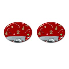 Hilarious Holidays  Cufflinks (oval) by Valentinaart