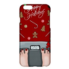 Hilarious Holidays  Apple Iphone 6 Plus/6s Plus Hardshell Case by Valentinaart