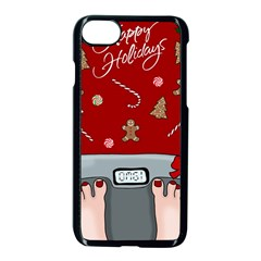 Hilarious Holidays  Apple Iphone 7 Seamless Case (black) by Valentinaart