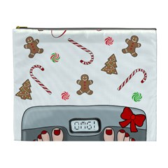 Hilarious Holidays  Cosmetic Bag (xl) by Valentinaart