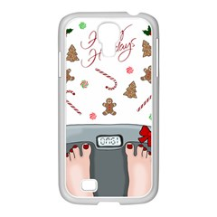 Hilarious Holidays  Samsung Galaxy S4 I9500/ I9505 Case (white) by Valentinaart