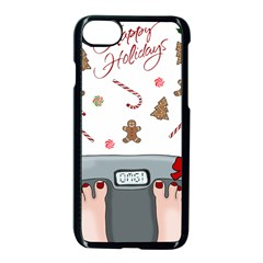 Hilarious Holidays  Apple Iphone 8 Seamless Case (black) by Valentinaart