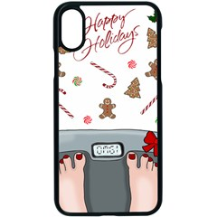 Hilarious Holidays  Apple Iphone X Seamless Case (black)