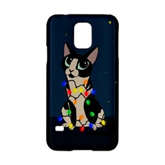 Meowy Christmas Samsung Galaxy S5 Hardshell Case  by Valentinaart