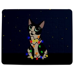 Meowy Christmas Jigsaw Puzzle Photo Stand (rectangular) by Valentinaart