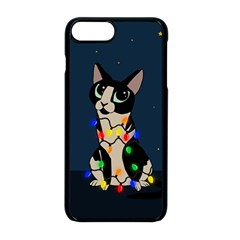 Meowy Christmas Apple Iphone 8 Plus Seamless Case (black) by Valentinaart