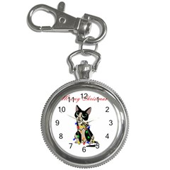 Meowy Christmas Key Chain Watches