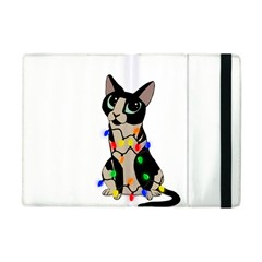 Meowy Christmas Apple Ipad Mini Flip Case