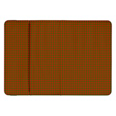 Classic Christmas Red And Green Houndstooth Check Pattern Samsung Galaxy Tab 8 9  P7300 Flip Case by PodArtist