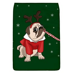 Pug Xmas Flap Covers (l)  by Valentinaart