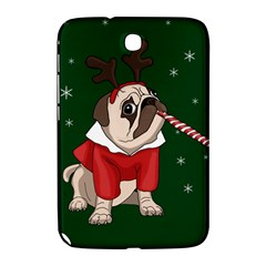 Pug Xmas Samsung Galaxy Note 8 0 N5100 Hardshell Case  by Valentinaart