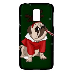 Pug Xmas Galaxy S5 Mini by Valentinaart
