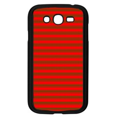 Christmas Red And Green Bedding Stripes Samsung Galaxy Grand Duos I9082 Case (black) by PodArtist
