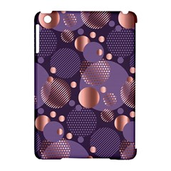 Random Polka Dots, Fun, Colorful, Pattern,xmas,happy,joy,modern,trendy,beautiful,pink,purple,metallic,glam, Apple Ipad Mini Hardshell Case (compatible With Smart Cover) by 8fugoso