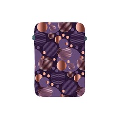 Random Polka Dots, Fun, Colorful, Pattern,xmas,happy,joy,modern,trendy,beautiful,pink,purple,metallic,glam, Apple Ipad Mini Protective Soft Cases by 8fugoso