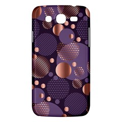 Random Polka Dots, Fun, Colorful, Pattern,xmas,happy,joy,modern,trendy,beautiful,pink,purple,metallic,glam, Samsung Galaxy Mega 5 8 I9152 Hardshell Case  by 8fugoso