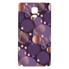 Random Polka Dots, Fun, Colorful, Pattern,xmas,happy,joy,modern,trendy,beautiful,pink,purple,metallic,glam, Galaxy Note 4 Back Case by 8fugoso