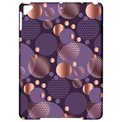 Random Polka Dots, Fun, Colorful, Pattern,xmas,happy,joy,modern,trendy,beautiful,pink,purple,metallic,glam, Apple Ipad Pro 9 7   Hardshell Case by 8fugoso