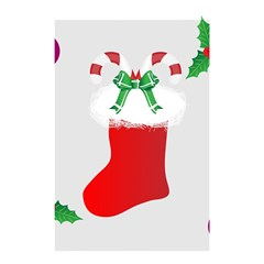 Christmas Stocking Shower Curtain 48  X 72  (small)  by christmastore
