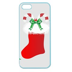 Christmas Stocking Apple Seamless Iphone 5 Case (color)