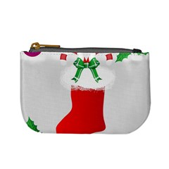 Christmas Stocking Mini Coin Purses by christmastore