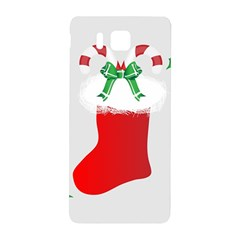 Christmas Stocking Samsung Galaxy Alpha Hardshell Back Case by christmastore