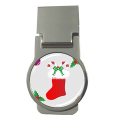 Christmas Stocking Money Clips (round)  by christmastore