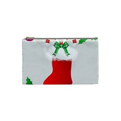 Christmas Stocking Cosmetic Bag (small)  by christmastore