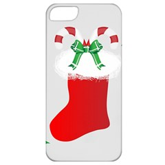 Christmas Stocking Apple Iphone 5 Classic Hardshell Case by christmastore