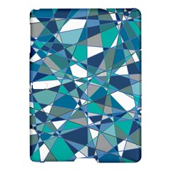 Abstract Background Blue Teal Samsung Galaxy Tab S (10 5 ) Hardshell Case  by Celenk