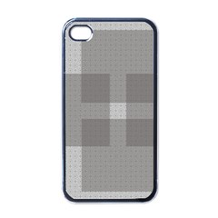 Gray Designs Transparency Square Apple Iphone 4 Case (black)