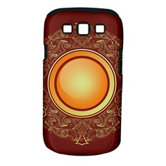 Badge Gilding Sun Red Oriental Samsung Galaxy S Iii Classic Hardshell Case (pc+silicone)