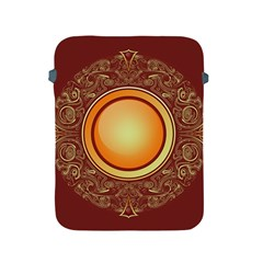 Badge Gilding Sun Red Oriental Apple Ipad 2/3/4 Protective Soft Cases by Celenk