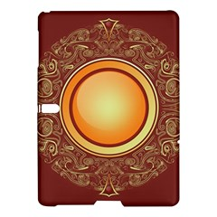 Badge Gilding Sun Red Oriental Samsung Galaxy Tab S (10 5 ) Hardshell Case  by Celenk