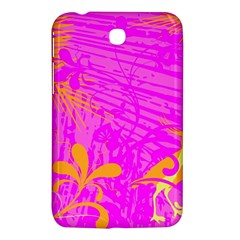 Spring Tropical Floral Palm Bird Samsung Galaxy Tab 3 (7 ) P3200 Hardshell Case