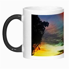 Sunset Mountain Indonesia Adventure Morph Mugs by Celenk