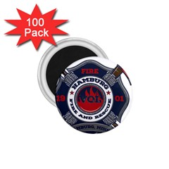 Hamburg, Minn Fire Dept 1 75  Magnets (100 Pack)  by allthingseveryday