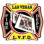 Las Vegas Fire Department Deluxe Canvas 14  x 11  14  x 11  x 1.5  Stretched Canvas