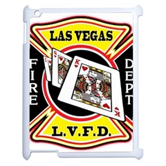 Las Vegas Fire Department Apple Ipad 2 Case (white) by allthingseveryday