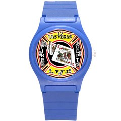 Las Vegas Fire Department Round Plastic Sport Watch (s) by allthingseveryday